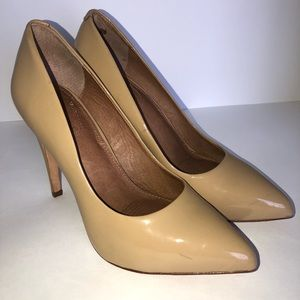 Corso Como Nude Patent Leather Heels Pumps 9